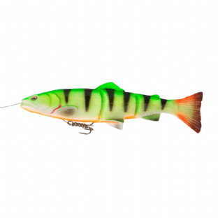 Savage Gear 3D Line Thru Trout - 20cm Firetiger